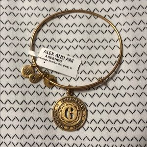 Alex and ani 6 bracelet